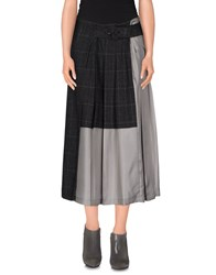 Adele Fado Skirts 3 4 Length Skirts Women Steel Grey