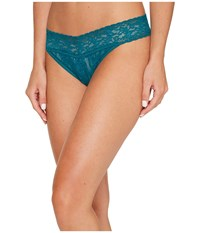 Hanky Panky Signature Lace Original Rise Thong Moodstone Green Women's Underwear