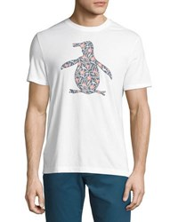 Original Penguin Floral Pete Graphic Tee White
