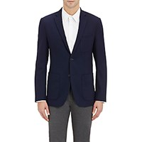 Theory Men's Two Button Sportcoat Navy