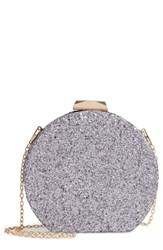 Natasha Glitter Clutch Purple Lilac