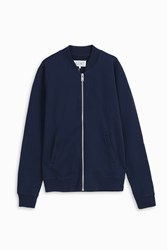 Maison Martin Margiela Men S Zip Through Jumper Boutique1 Navy