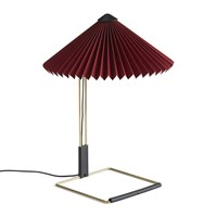 Hay Matin Table Lamp Oxide Red