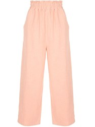 Auguste Peggy Cropped Trousers Pink