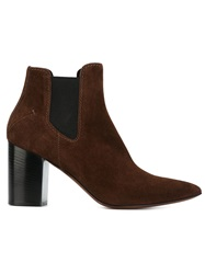 Cnc Costume National Costume National Chunky Heel Ankle Boots Brown
