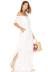 Clube Bossa Sert Long Dress White
