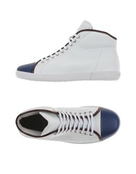 Giorgio Armani Footwear High Tops And Trainers Men White