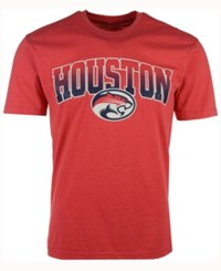 Colosseum Men's Houston Cougars Gradient Arch T Shirt Red