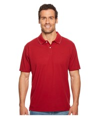 Dockers Solid Signature Polo Rio Red Clothing