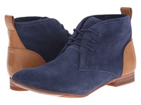 Sebago Hutton Chukka Navy Suede Women's Lace Up Boots Blue