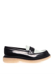 Adieu Type 5 Bi Colour Leather Loafers