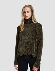 Which We Want Marta Turtleneck Olive