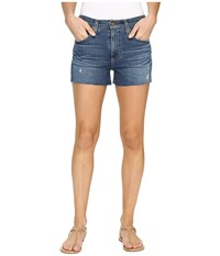 Ag Adriano Goldschmied Sadie Shorts In 8 Years Misty Dawn 8 Years Misty Dawn Women's Shorts Blue