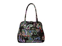 Vera Bradley Turnlock Satchel Kiev Paisley Satchel Handbags Multi