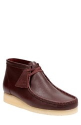 Clarksr Originals Men's Clarks 'Wallabee' Boot Burgundy Leather