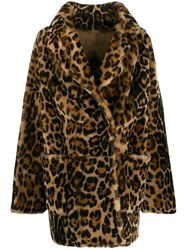 Liska Leopard Effect Coat 60