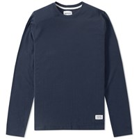 Norse Projects Long Sleeve Niels Basic Tee Blue