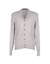 Guess By Marciano Knitwear Cardigans Men Light Grey