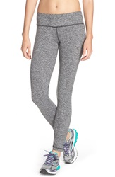 Pink Lotus 'Stealth Performance' Leggings Heather Grey