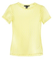 New Look Print Tshirt Bright Yellow