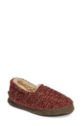 Woolrich Whitecap Knit Slipper Picante Fabric