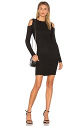 Leo And Sage Cut Out Dress Black