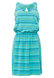 Patagonia Ashley Jersey Dress Howling Turquoise