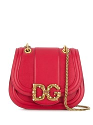 Dolce And Gabbana Amore Bag Red
