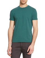 Kenneth Cole Striped Tech T Shirt Palm