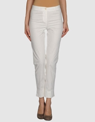 Irma Bignami Dress Pants White