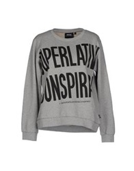 Wesc Sweatshirts Light Grey