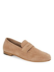 Saks Fifth Avenue Solid Leather Loafers Taffy