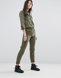Noisy May Utility Jumpsuit Ivy Green