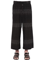 Damir Doma Payce 3D Printed Cotton Trousers