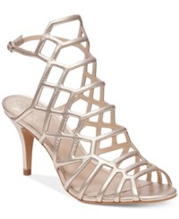 Vince Camuto Paxton Dress Sandals Women's Shoes Egyptian Gold