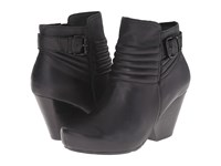 Otbt Red Bank Black Women's Pull On Boots