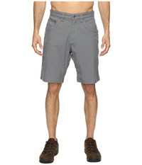Mountain Khakis Camber 104 Hybrid Shorts Gunmetal Men's Shorts Gray
