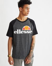Ellesse Raglan T Shirt With Grey Marl