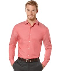 Perry Ellis Big And Tall Non Iron Travel Luxe Performance Shirt