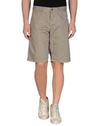 Gaudi' Denim Bermudas Dove Grey