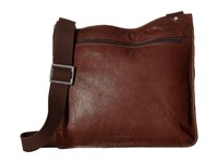 Scully Erin Lightweight Messenger Bag Brown Messenger Bags