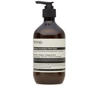 Aesop Reverence Aromatique Hand Wash Brown