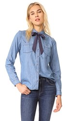 Mkt Studio Chaly Blouse Blue
