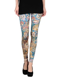 Just Cavalli Leggings Turquoise