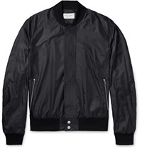 Public School Shell Bomber Jacket Black