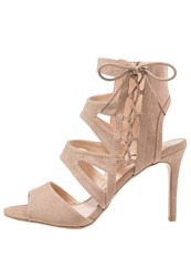 Dorothy Perkins Saffie Sandals Cream Beige