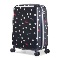 Radley Vintage Dog Dot Suitcase Ink Blue