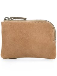 Ally Capellino 'Tess' Coin Purse Brown