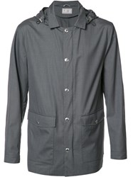 Brunello Cucinelli Zip Up Lightweight Jacket Grey