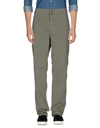 Aeronautica Militare Casual Pants Military Green